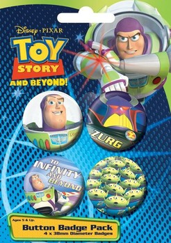 Button TOY STORY - raum