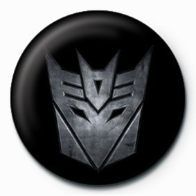 Button TRANSFORMERS - deception