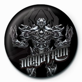 Button  TRANSFORMERS - megatron