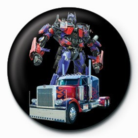 Button TRANSFORMERS - optimus