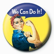 Button WE CAN DO IT