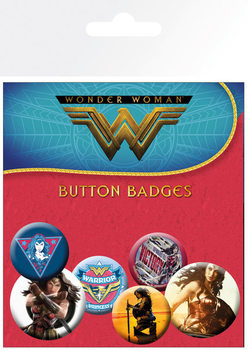 Button  Wonder Woman - Mix