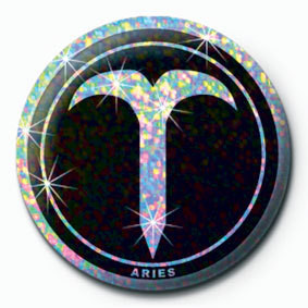 Button ZODIAC - Aries