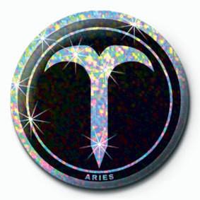 Button  ZODIAC - Aries