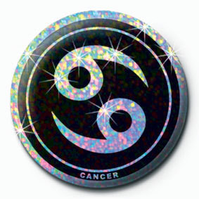 Button ZODIAC - Cancer