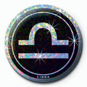 Button ZODIAC - Libra