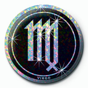 Button ZODIAC - Virgo