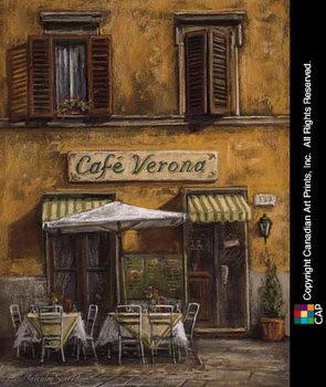 Café Verona Festmény reprodukció