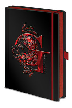 Cahier Harry Potter - Gryffindor Foil