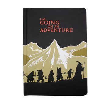 Cahier Le Hobbit - I'm Going On An Adventure!