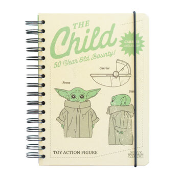 Cahier Star Wars: The Mandalorian - The Child