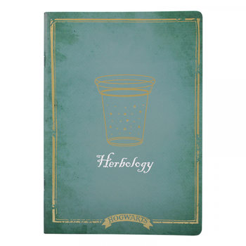 Harry Potter - Herbology A4 Cahier