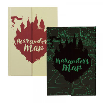 Harry Potter - Mauraders Map A5 Cahier