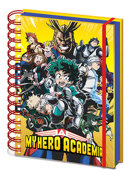 My Hero Academia - Radial Character Burst Cahier
