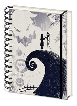 Nightmare Before Christmas - Spiral Hill Cahier