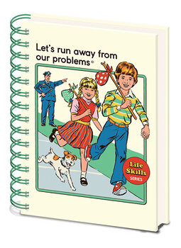 Steven Rhodes - Let's Run Away From Our Problems Cahier
