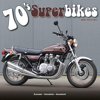 70'S Superbikes Calendar 2021