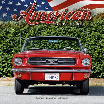 American Classic Cars Calendar 2022
