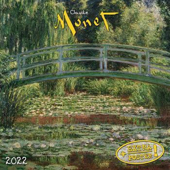 Claude Monet Calendar 2022