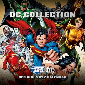DC Comics Calendar 2022