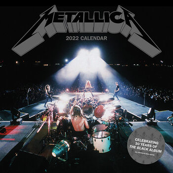Metallica Calendar 2022