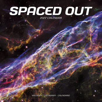 Spaced Out Calendar 2022