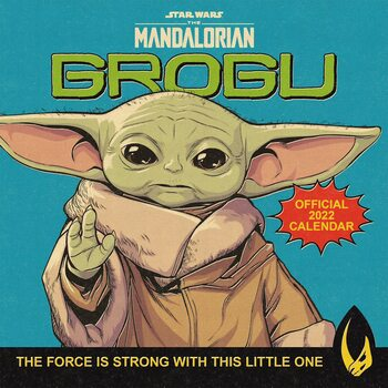 Star Wars: The Mandalorian Calendar 2022