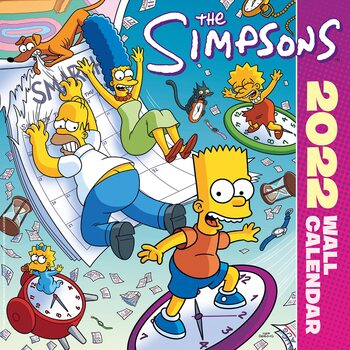 The Simpsons Calendar 2022