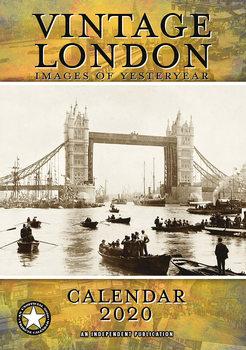 Vintage London Calendar 2021