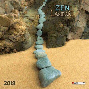 Zen Landart Calendar 2021
