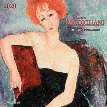 A. Modigliani - Sensual Portraits Calendar 2020
