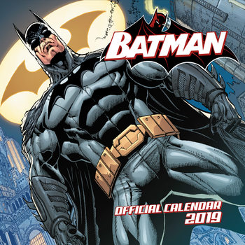 Batman Comics Calendar 2019