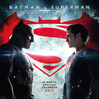 Batman vs Superman Calendar 2017