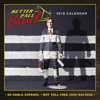 Better Call Saul Calendar 2018