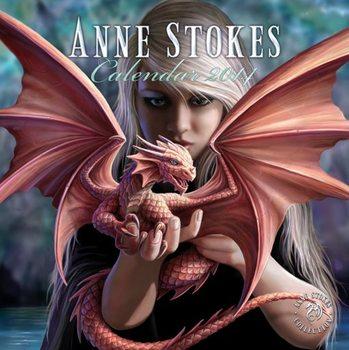 Calendar 2014 - ANNE STOKES Calendar 2017