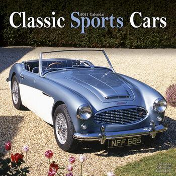 Classic Sports Cars Calendar 2021