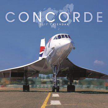 Concorde Calendar 2017