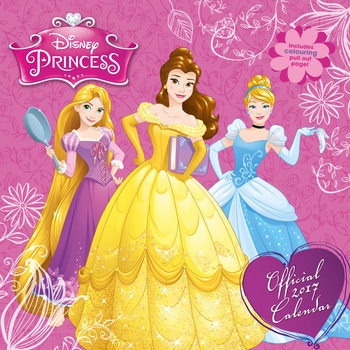 Disney - Princess Calendar 2017