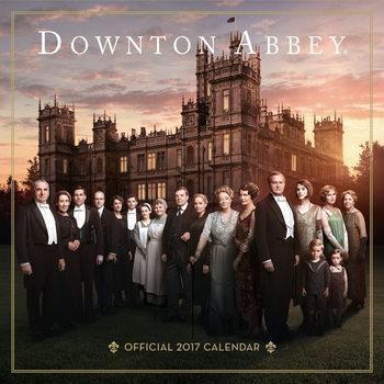 Downtown Abbey Calendar 2017