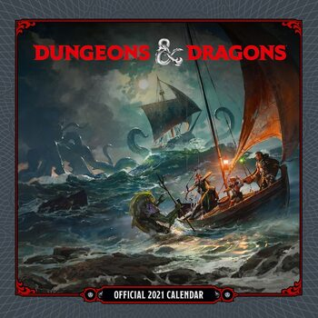Dungeons & Dragons Calendar 2021