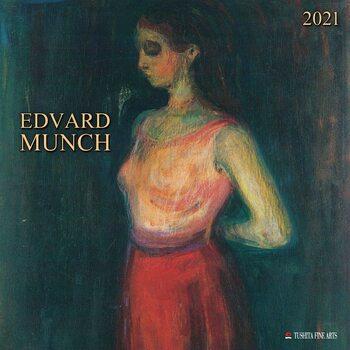 Edvard Munch Calendar 2021