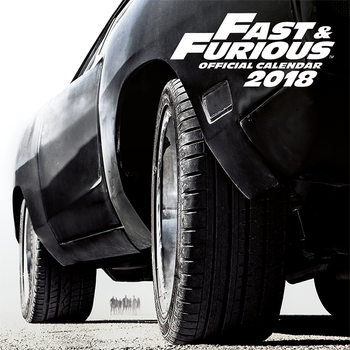 Fast And Furious Calendar 2018