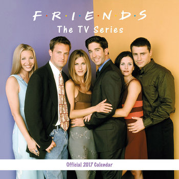 Friends TV Calendar 2017