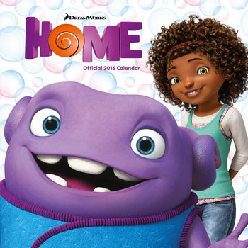 Home (Movie 2015) Calendar 2017