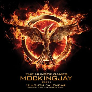 Hunger Games: Mockingjay Part 1 Calendar 2016