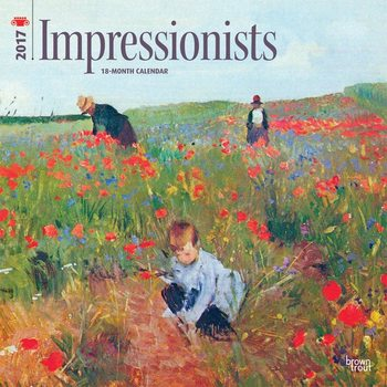 Impressionists Calendar 2017