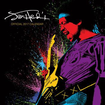 Jimi Hendrix Calendar 2017