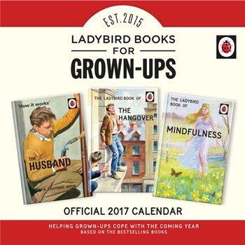 Ladybird Books For Grown-Ups Calendar 2018