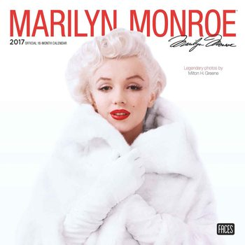 Marilyn Monroe Calendar 2017