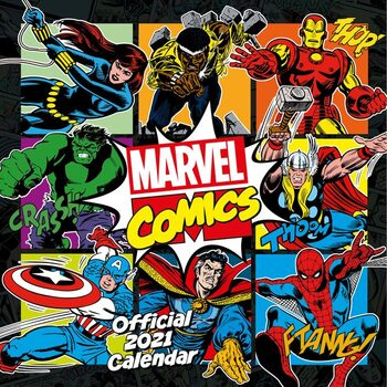 Marvel - Comics Classic Calendar 2021